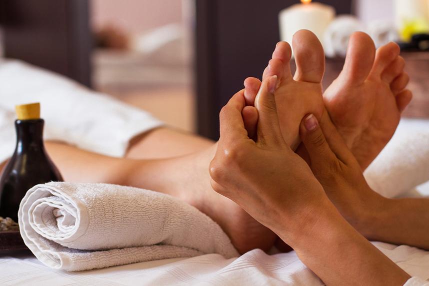 Fußreflfexzonenmassage, Physiotherapie Münchberg